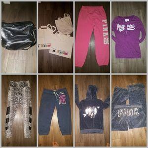 10 women tracksuit, sweats, bags top S, sweats L
